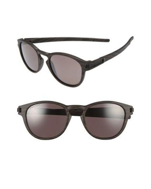 Oakley | Brown 'latch(tm)' 53mm Polarized Sunglasses | Lyst