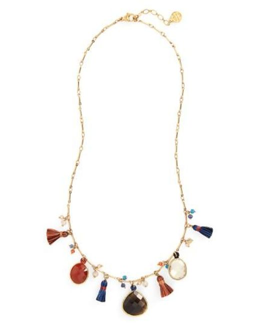 Gas Bijoux | Red Serti Collar Necklace | Lyst