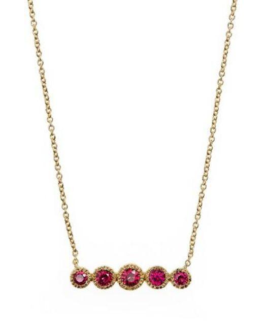 Bony Levy   Multicolor Gemstone Pendant Necklace (nordstrom Exclusive)   Lyst