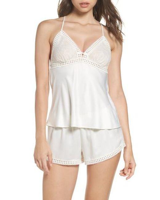 Flora Nikrooz | White Nadya Pajamas | Lyst