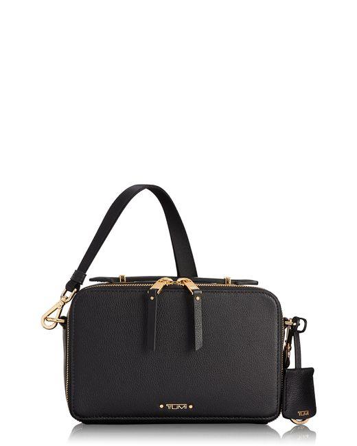 Tumi - Black Voyaguer- Aberdeen Leather Crossbody Bag - - Lyst
