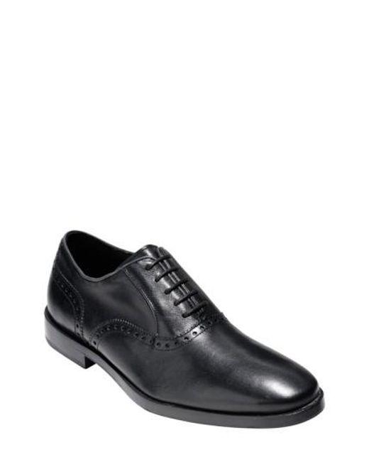 Cole Haan   Black 'hamilton Grand' Plain Toe Oxford for Men   Lyst