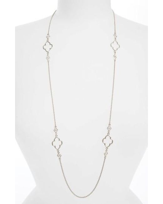 Armenta | Metallic Station Necklace | Lyst