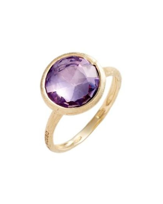 Marco Bicego | Purple Stackable Semiprecious Stone Ring | Lyst