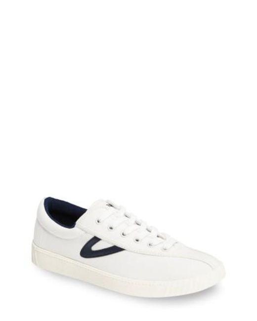 Tretorn | White Nylite Plus Sneaker | Lyst