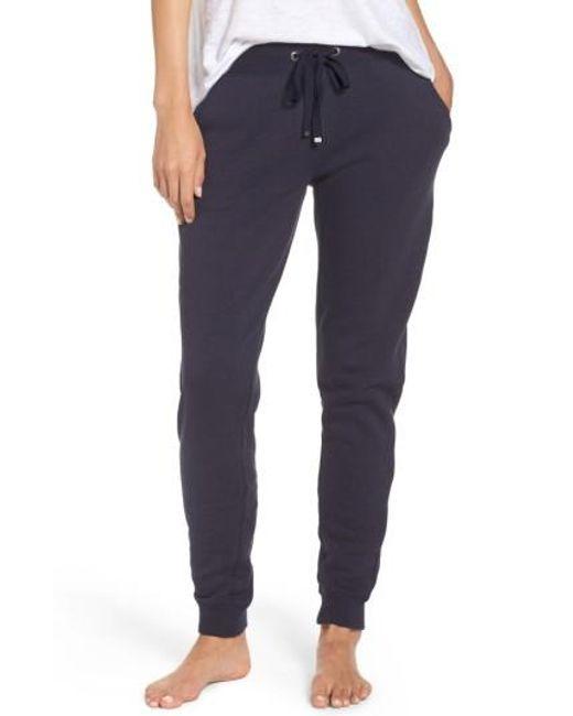 Make + Model   Blue Lounge Around Pants   Lyst