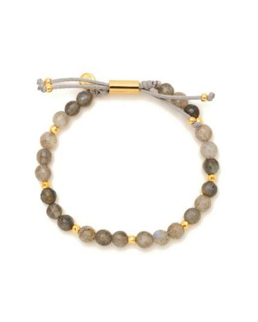Gorjana   Metallic Power Semiprecious Stone Beaded Bracelet   Lyst