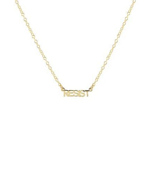 luna york script necklace brook initial products grande silver