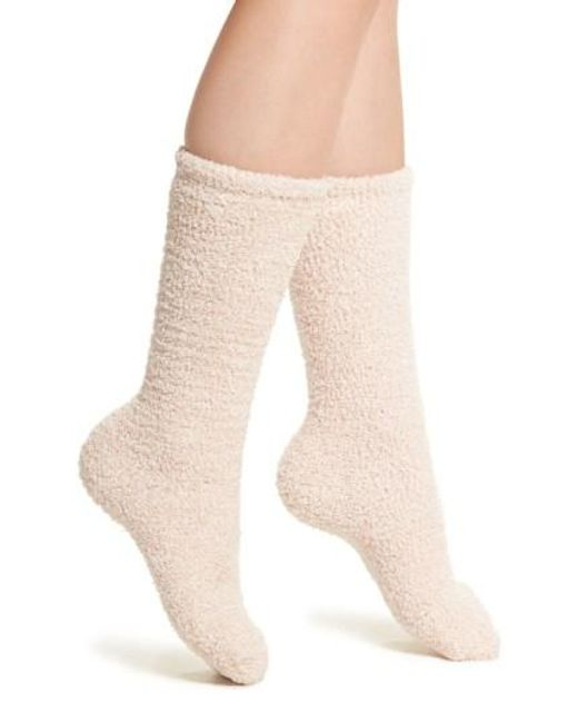 Barefoot Dreams   Natural Barefoot Dreams Cozychic Socks   Lyst