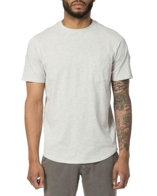 Good Man Brand   White Cotton T-shirt for Men   Lyst