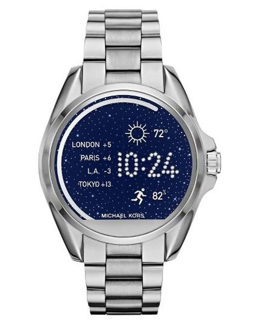 Michael Kors | Metallic Michael Michael Kors Bradshaw Access Bracelet Smart Watch | Lyst