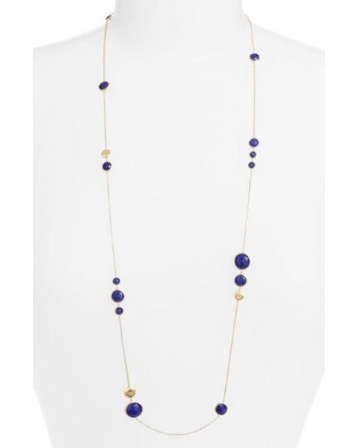 Marco Bicego | Metallic 'jaipur' Long Station Necklace | Lyst