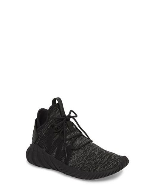 Cheap Adidas Originals Tubular Radial Knit Antique Brass/Dark Zappos