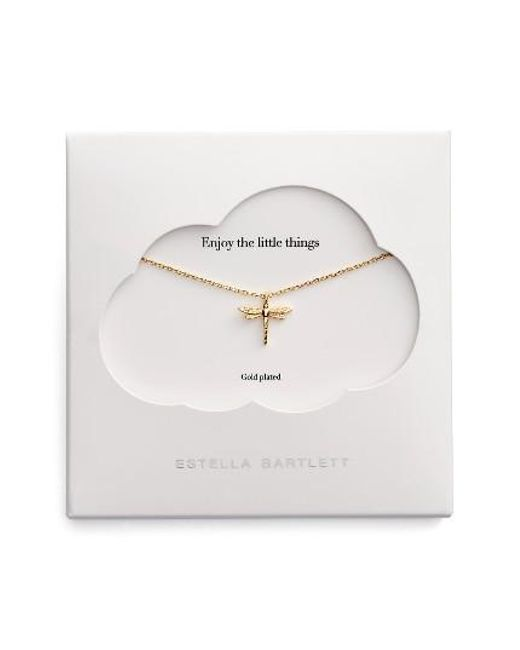 Estella Bartlett | Metallic The Little Things Dragonfly Necklace | Lyst