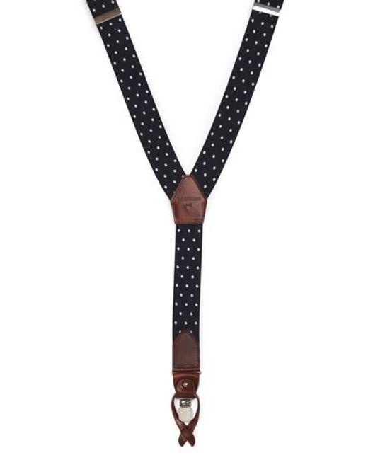 Magnanni Shoes | Blue Dot Suspenders for Men | Lyst