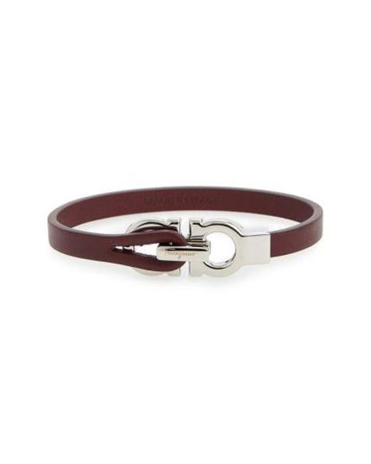 Ferragamo | Multicolor Double Gancini Leather Bracelet | Lyst