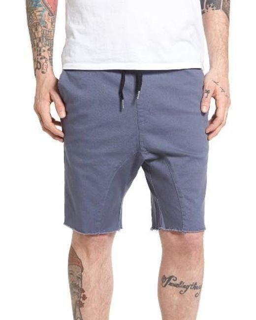 Zanerobe | Blue Sureshot Chino Shorts for Men | Lyst