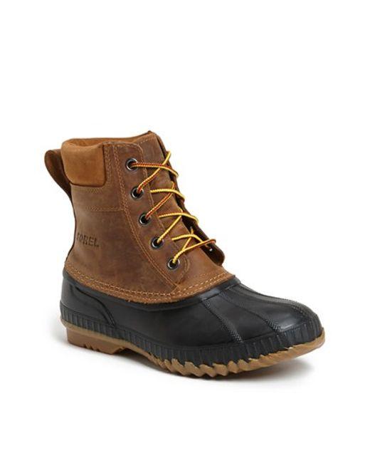 Sorel | Brown 'cheyanne' Snow Boot for Men | Lyst