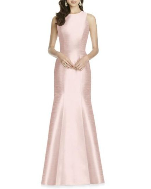 Alfred Sung | Pink Dupioni Trumpet Gown | Lyst