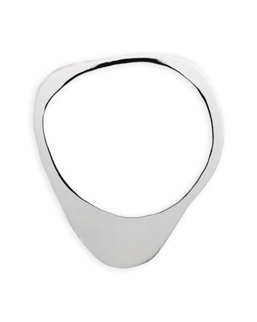Faris | Metallic Stone Bangle Bracelet | Lyst