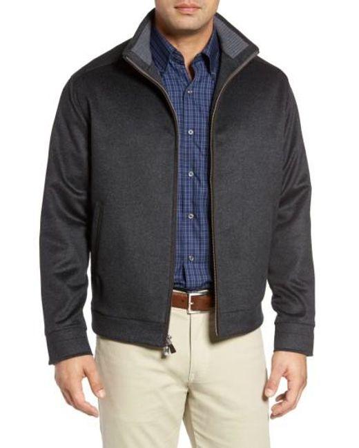 Peter Millar | Gray Westport Wool & Cashmere Jacket for Men | Lyst