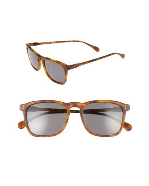 Raen | Multicolor Wiley 54mm Sunglasses - Rootbeer for Men | Lyst