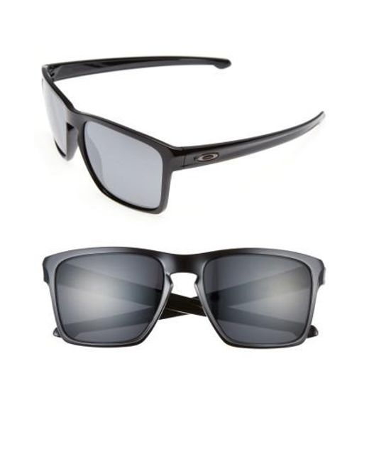 Oakley | Black Silver Xl 57mm Sunglasses | Lyst