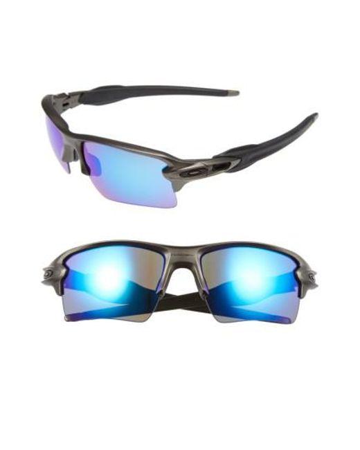 Oakley | Gray Flak 2.0 59mm Sunglasses for Men | Lyst