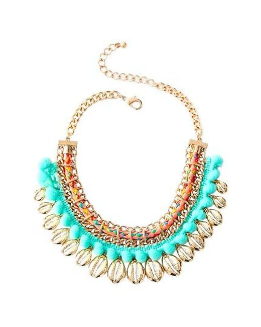 Lilly Pulitzer | Multicolor Lilly Pulitzer Sparkling Sands Frontal Necklace | Lyst