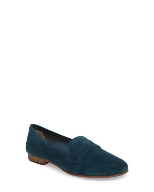 Vince Camuto | Blue Elroy Penny Loafer | Lyst