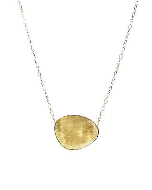 Marco Bicego | Metallic Lunaria Pendant Necklace | Lyst