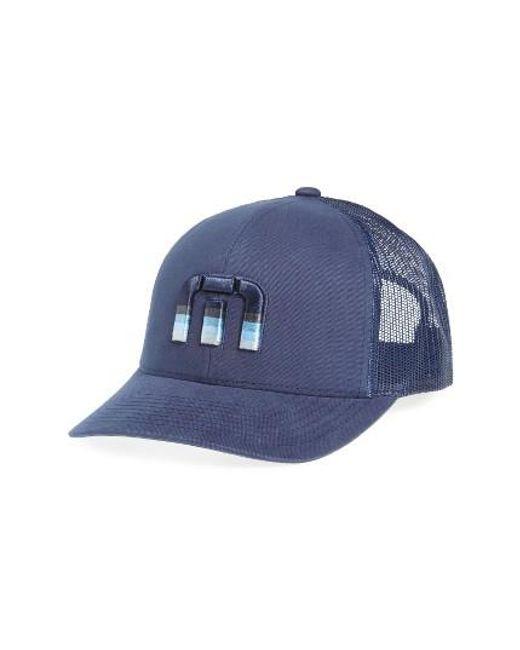 Travis Mathew   Blue Trucker Hat for Men   Lyst