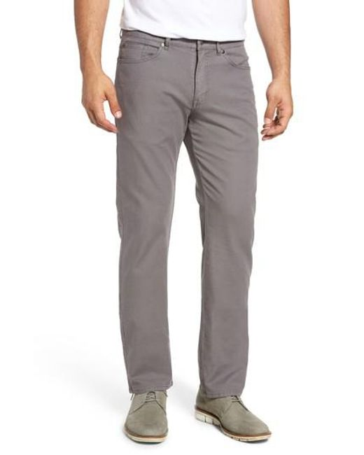 Peter Millar | Gray Crown Vintage Canvas Pants for Men | Lyst