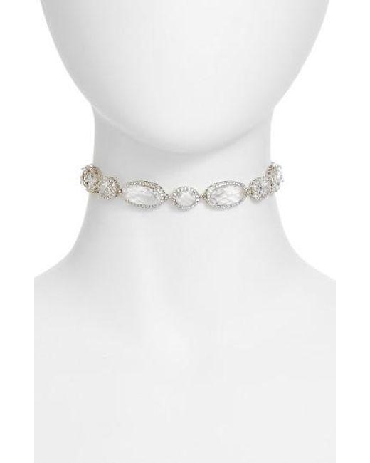 Jenny Packham | Metallic Four-way Convertible Necklace | Lyst