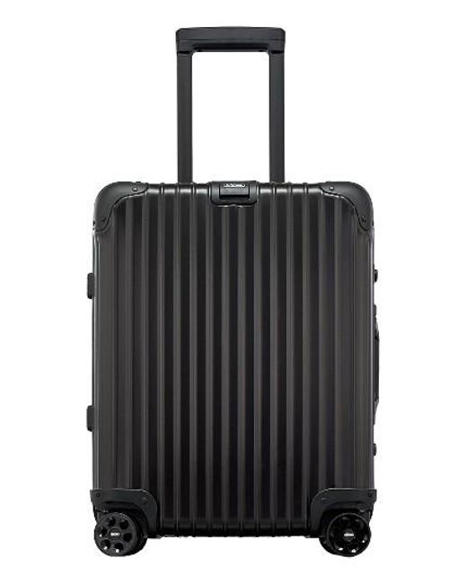 rimowa topas 22 inch cabin multiwheel aluminum carry on in