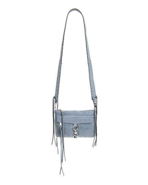 Rebecca Minkoff | Blue Mini Mac Convertible Crossbody Bag | Lyst