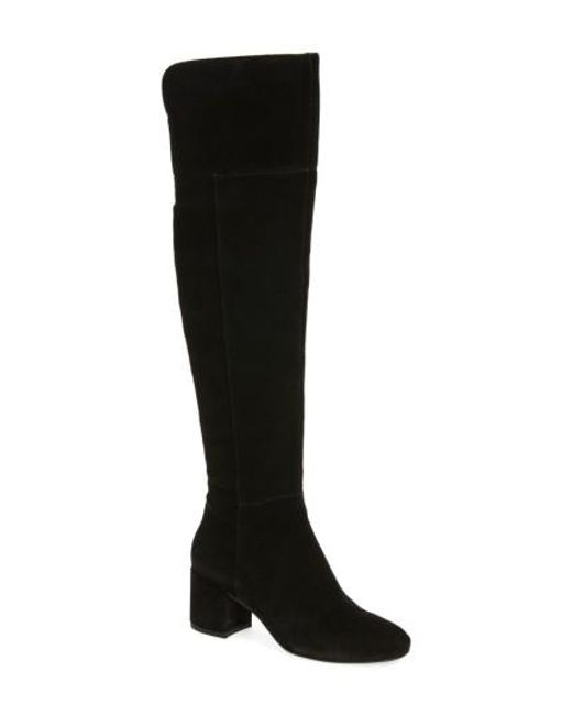 Sarto | Black Korrine Over The Knee Boot | Lyst