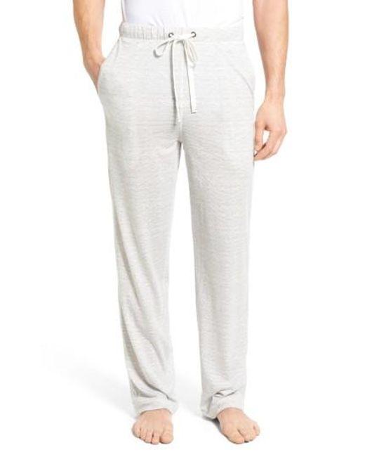 Daniel Buchler | Gray Pima Cotton & Modal Lounge Pants for Men | Lyst