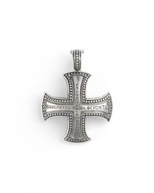 necklace jewelry templar cross vintage iron steel women stainless biker mens maltese knights pendant item