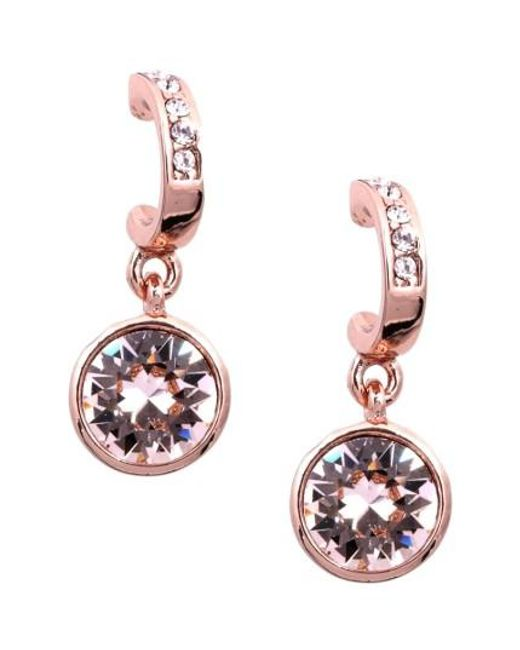 Givenchy | Multicolor Crystal Hoop Drop Earrings | Lyst