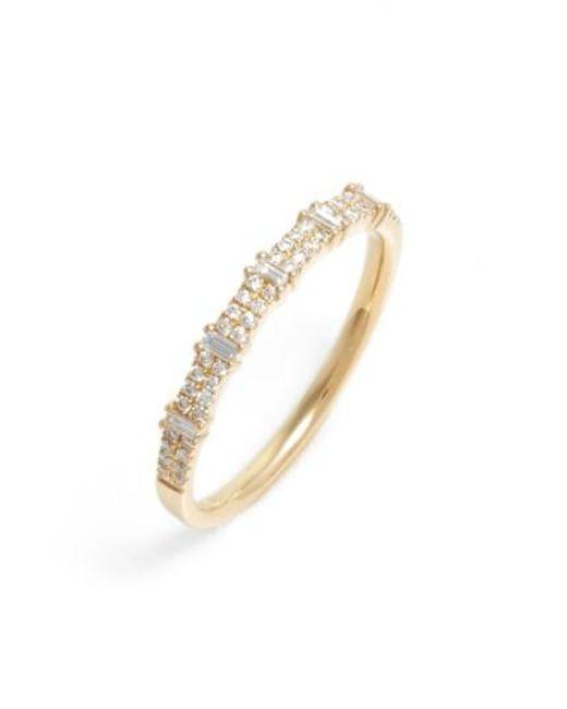 Bony Levy | Metallic Amara Diamond Stack Ring (nordstrom Exclusive) | Lyst