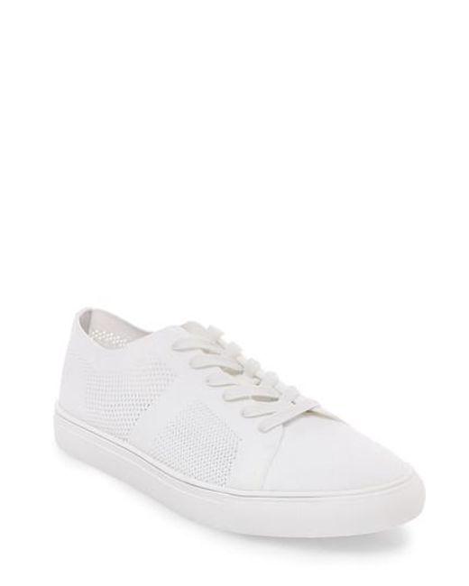 Steve Madden | White Wexler Woven Sneaker for Men | Lyst
