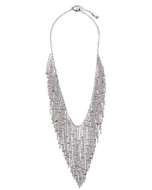 St. John | Metallic Swarovski Crystal Chain Necklace | Lyst