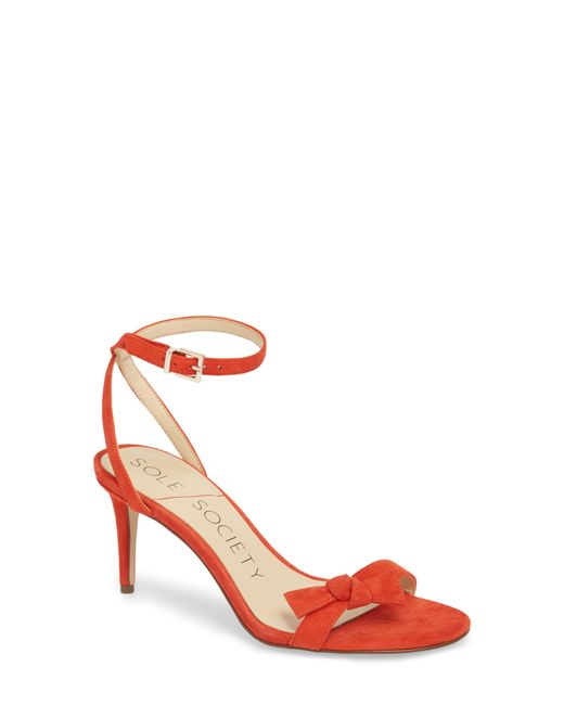 Sole Society - Multicolor Avrilie Knotted Sandal - Lyst