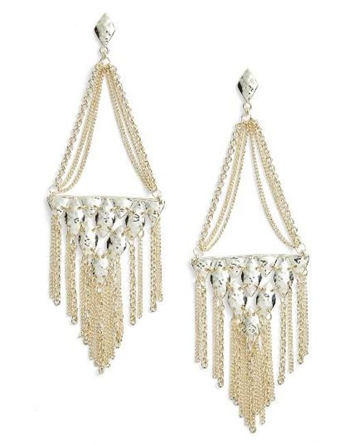 Kendra Scott | Metallic Mandy Drop Earrings | Lyst