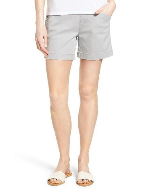 Jag Jeans | Multicolor Ainsley Pull-on Stretch Twill Shorts | Lyst