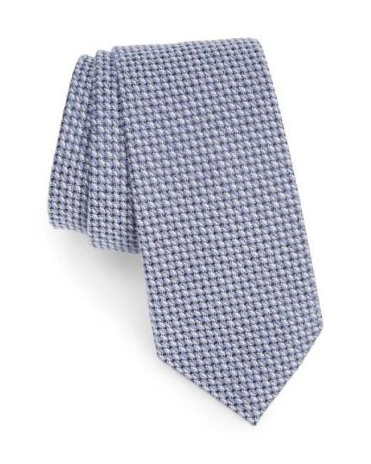 Calibrate   Blue Angora & Silk Tie for Men   Lyst