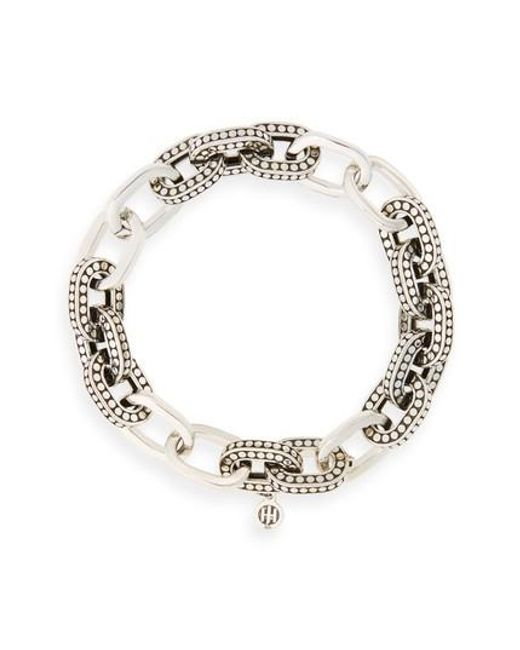 John Hardy | Metallic Dot Link Bracelet | Lyst