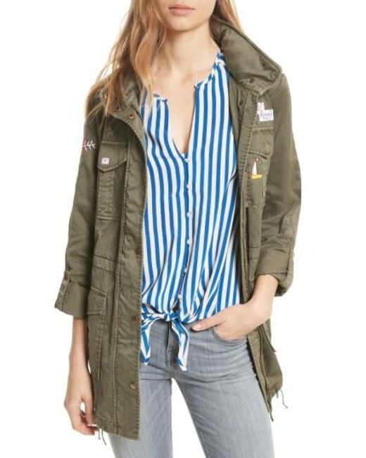 Joie | Blue Iban Utility Jacket | Lyst