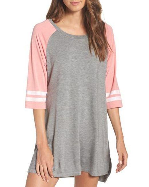 Honeydew Intimates | Gray Honeydew Modal Jersey Sleepshirt | Lyst
